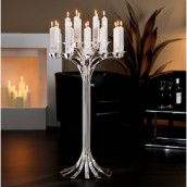 18 Flames Candle Stand