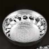 Round Crystal Bowl (M)